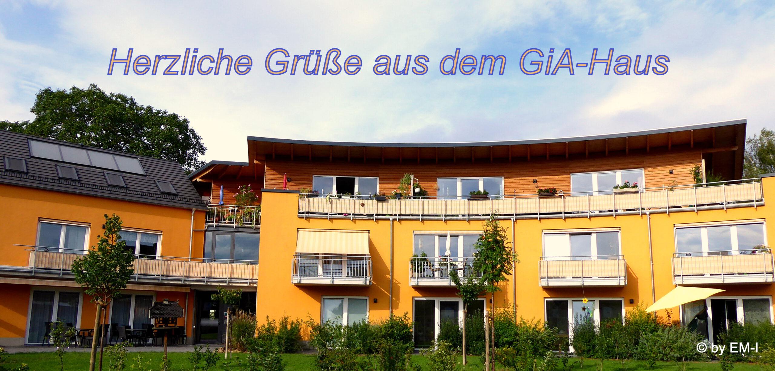 Grüse aus dem GiA Haus